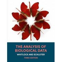 Analysis biological data  book