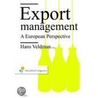 Exportmanagement a european perspective (wordt op school geleverd)
