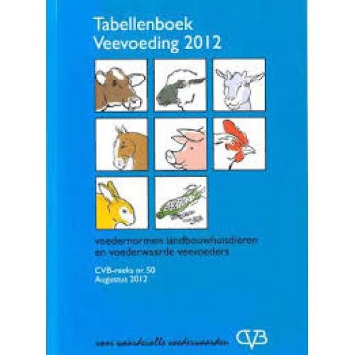 CVB tabellenboekje 2012 (alleen afhalen)